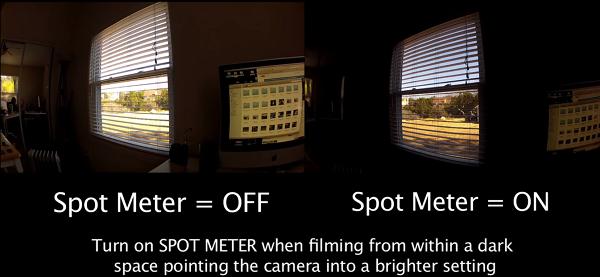 gopro spot meter