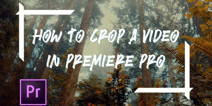 How To Crop A Video In Premiere Pro