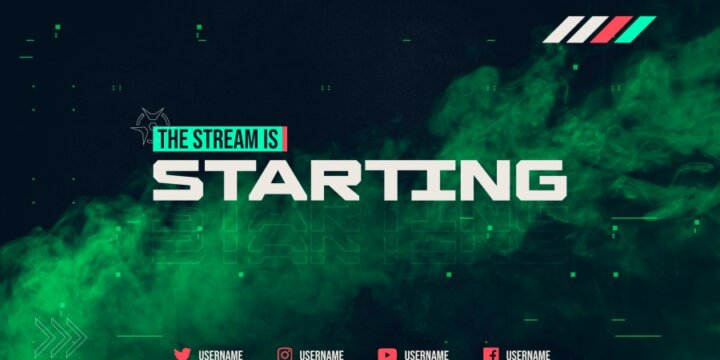 Top 30 Stream Starting Soon Screens